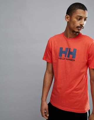 Helly Hansen Logo T-Shirt In Orange