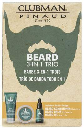 Clubman Beard 3-in-1 Trio Kit