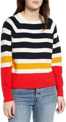 Love By Design Stripe Knit Sweater