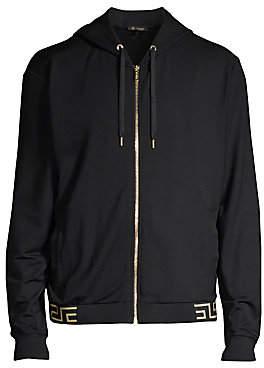 Versace Men's Greca Border Track Jacket