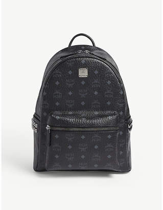 MCM Stark semi-medium coated-canvas backpack
