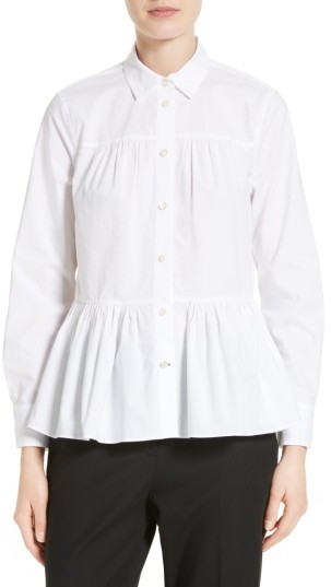 Women's Kate Spade New York Poplin Swing Shirt