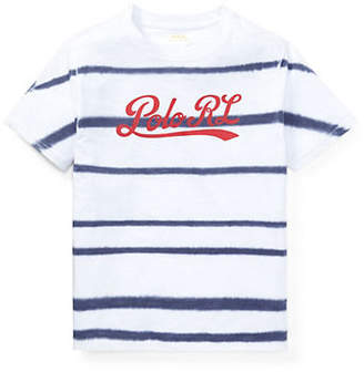 Ralph Lauren Tie-Dyed Cotton Jersey Tee