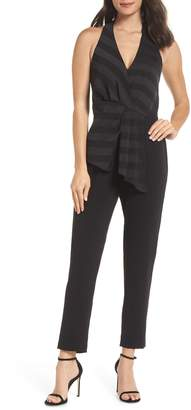 Harlyn V-Neck Stripe Top Jumpsuit