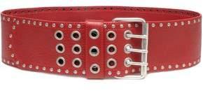 Just Cavalli Stud-Embellished Leather Belt