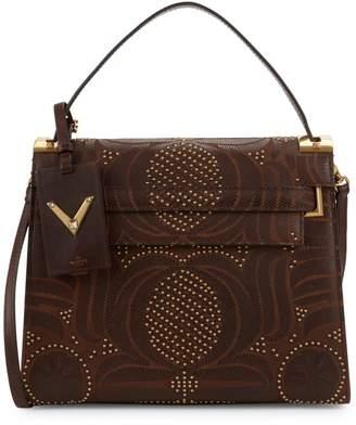 Valentino Studded Top Handle Bag