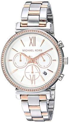 4a1dc0b9d7f at Amazon.co.uk · Michael Kors Women s Analogue Quartz Watch with Stainless  Steel Strap MK6558