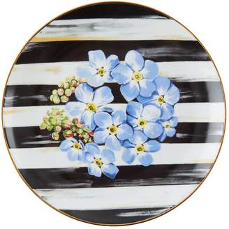 Mackenzie Childs Mackenzie-Childs Thistle and Bee Forget-Me-Not Salad Plate (21cm)