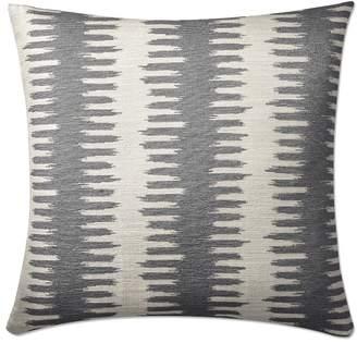 Williams-Sonoma Paloma Ikat Jacquard Pillow Cover, Gray