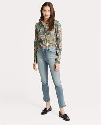 Ralph Lauren Floral-Print Button-Down Shirt