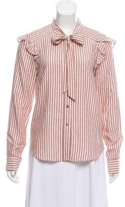 Veronica Beard Atlas Button-Up Top w/ Tags
