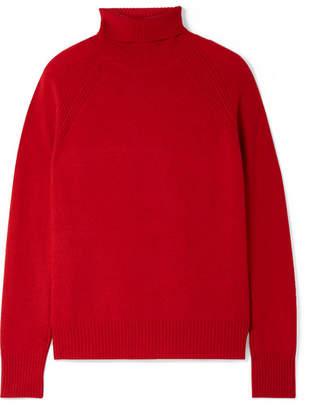 Bottega Veneta Cashmere Turtleneck Sweater - Red