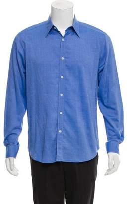 Theory Chambray Sebastian NY Button-Up Shirt