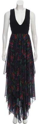 Alice + Olivia Sleeveless Evening Dress