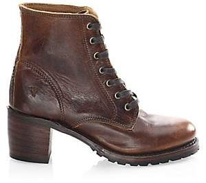 Frye Women's Sabrina Leather Booties