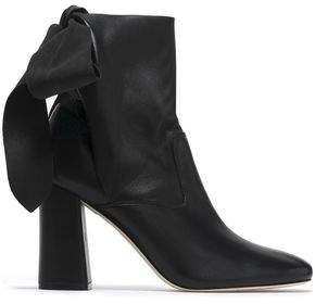 Sigerson Morrison Knotted Suede Ankle Boots