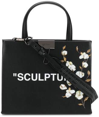Off-White Sculpture box tote