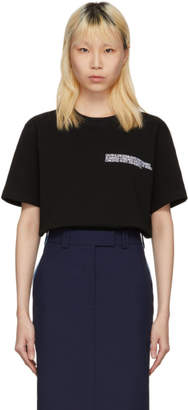 Calvin Klein Black Text Logo T-Shirt