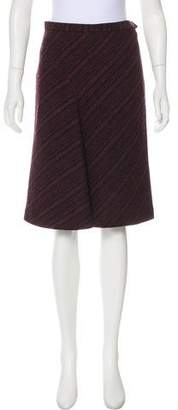 Max Mara Weekend Tweed Knee-Length Dress