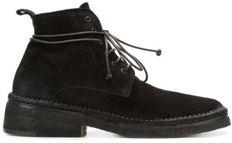 Marsèll lace-up suede ankle boots