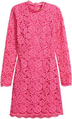 H&M Short Lace Dress - Pink