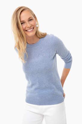 White + Warren Baltic Heather Essential Cashmere Crewneck Sweater