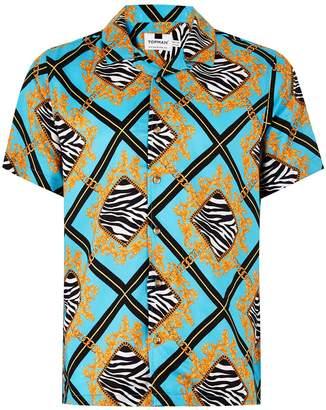 Topman Leopard Baroque Shirt