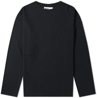 Mhl By Margaret Howell Long Sleeve Naval Crew Tee