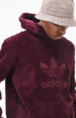 adidas Winterized Plush Pullover Hoodie