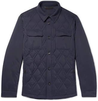 Ermenegildo Zegna Slim-Fit Quilted Shell Down Jacket