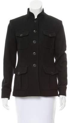 Rag & Bone Button-Up Wool Jacket
