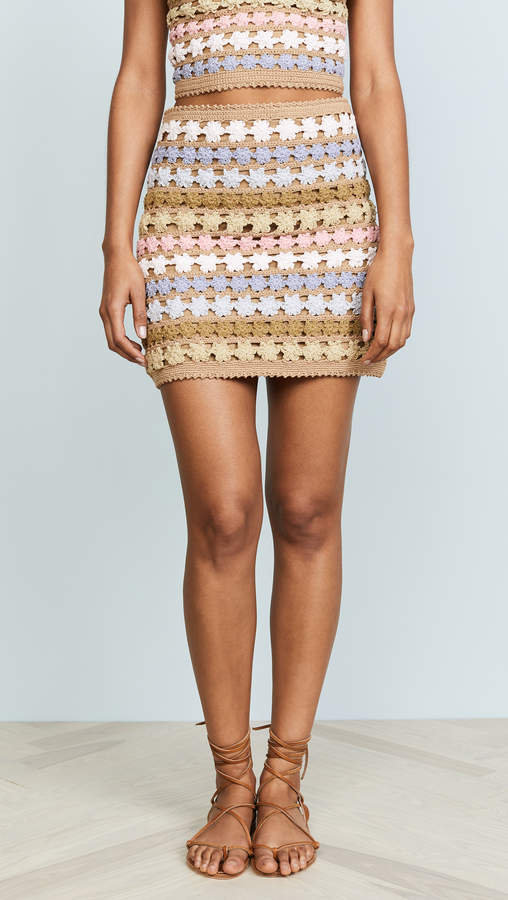 Maala Crochet Skirt