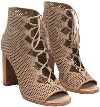 Frye Gabby Ghillie Leather Bootie