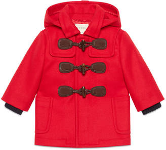 Baby wool cashmere montgomery coat $775 thestylecure.com