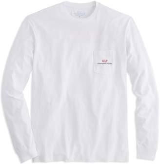Vineyard Vines Long-Sleeve Logo Graphic Pocket T-Shirt