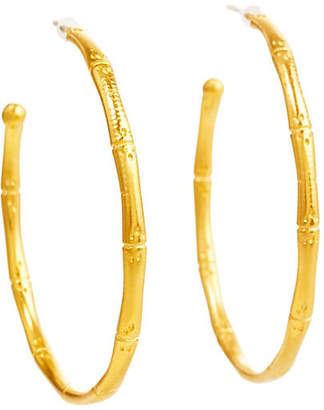 Catherine Canino Bamboo Hoop Earrings