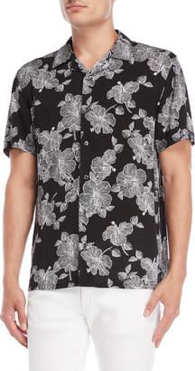 Nickel & Iron Hibiscus Short Sleeve Shirt