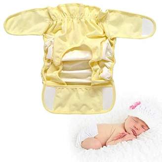Sealive 1 Pc Cotton Baby Cloth Diaper Nappy Waterproof Breathable Bag Washable Adjustable Breathable Cloth Diaper Prevent Side Leakage for Child Boys Girls