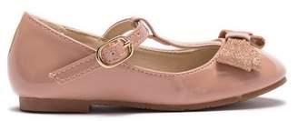 Tahari T-Strap Bow Ballet Flat (Toddler)