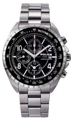 Police Men's PL-10962JS/02M Navy Dial Stainless-Steel Bracelet Watch