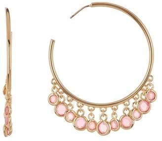 Trina Turk Shakey 45mm Hoop Earrings