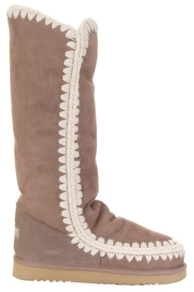 MOU - Tall suede Eskimo boot