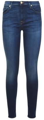 7 For All Mankind Skinny Bair Jeans