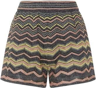 M Missoni Metallic Wave Shorts