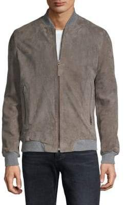 Lot 78 Suede Bomber
