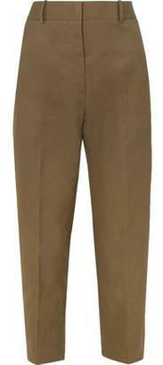 Jil Sander Cotton-canvas Tapered Pants