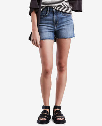 Levi's Mile High Cutoff Denim Shorts