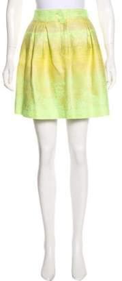 Matthew Williamson Metallic Jacquard Skirt