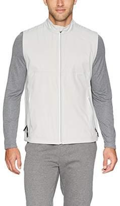 Cutter & Buck Men's Waterproof Packable Reflective Fairway Full-Zip Vest