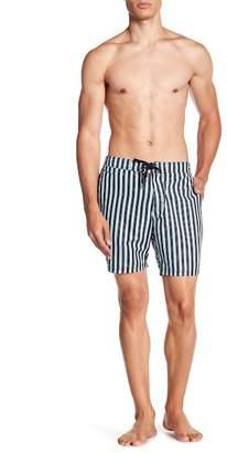 BEACH BROS Stripe Boardshorts
